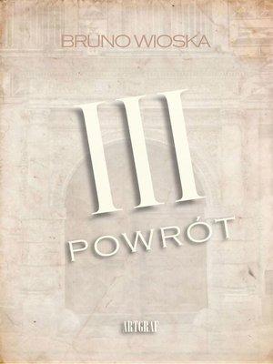 cover image of III powrót