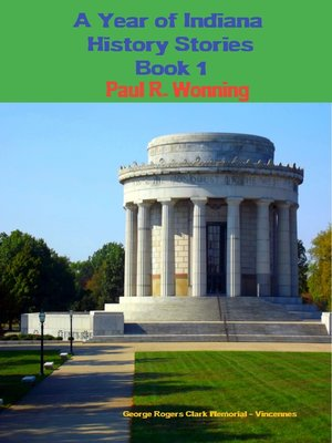 cover image of A Year of Indiana History Stories