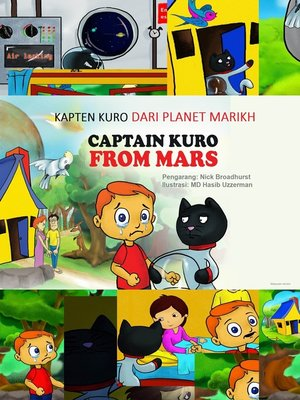 cover image of Kapten Kuro Dari Planet Marikh
