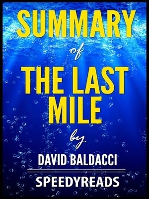 cover image of Summary of the Last Mile by David Baldacci