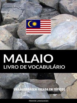 cover image of Livro de Vocabulário Malaio