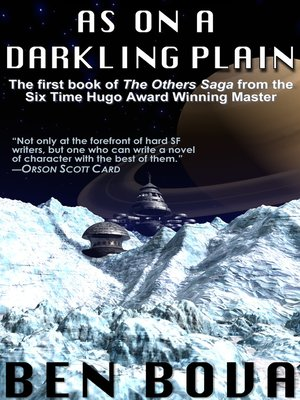 cover image of As on a Darkling Plain