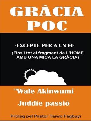 cover image of Poc freqüents Gràcia Guardado amb un propòsit