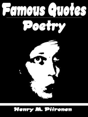 cover image of Famous Quotes on Poetry