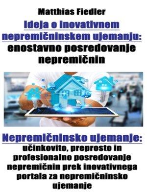 cover image of Ideja o inovativnem nepremičninskem ujemanju
