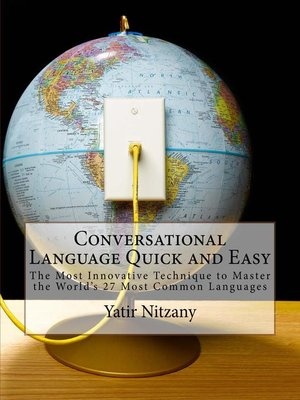 cover image of Conversational Language Quick and Easy