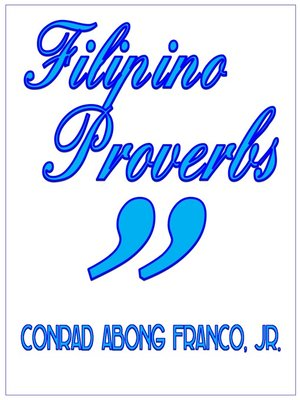 cover image of Filipino Proverbs
