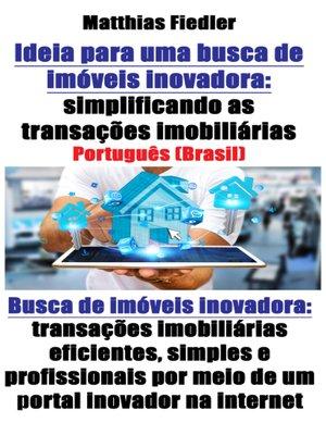 cover image of Ideia para uma busca de imóveis inovadora