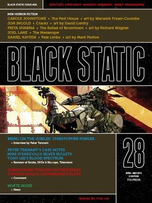 cover image of Black Static #28 Horror Magazine