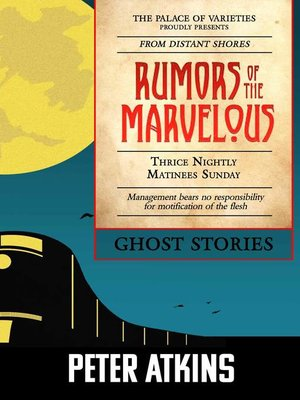 cover image of Rumors of the Marvelous