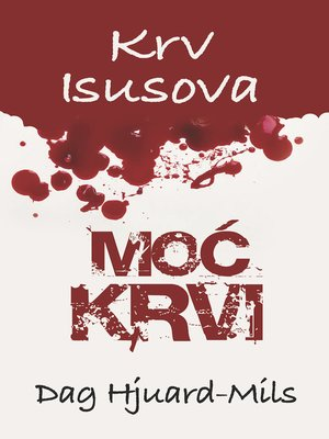 cover image of Moć Krvi