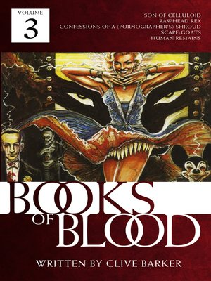 cover image of Books of Blood, Volume 3