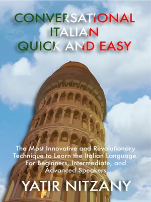 cover image of Conversational Italian Quick and Easy