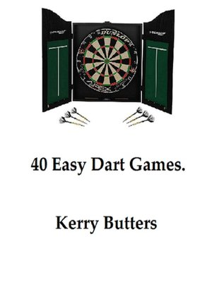 cover image of 40 Easy Dart Games.