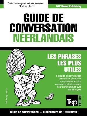 cover image of Guide de conversation Français-Néerlandais et dictionnaire concis de 1500 mots