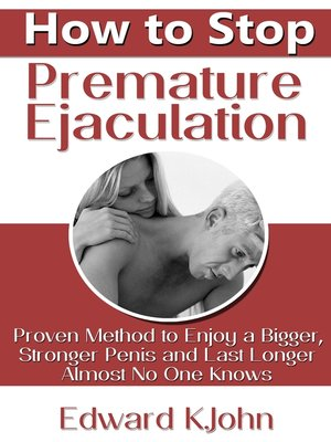 How to fix premature ejaculation