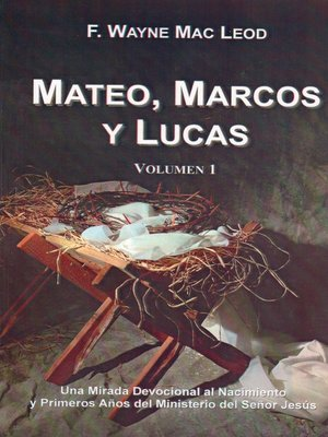 cover image of Mateo, Marcos y Lucas (volumen 1)