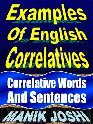 cover image of Examples of English Correlatives