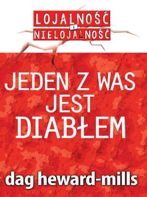 cover image of Jeden Z Was Jest Diabłem