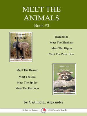 cover image of Meet the Animals; Book 3