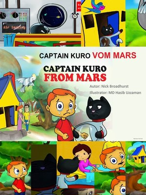 cover image of Captain Kuro Vom Mars