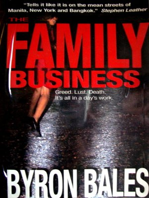 cover image of The Family Business
