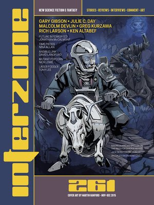 cover image of Interzone #261 (Nov-Dec 2015)