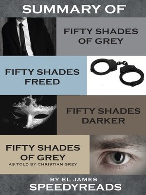 cover image of Summary of Fifty Shades of Grey, Fifty Shades Freed, Fifty Shades Darker, and Grey