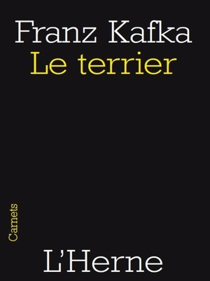 cover image of Le terrier