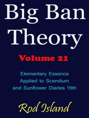 cover image of Elementary Essence Applied to Scandium and Sunflower Diaries 18th, Volume 21