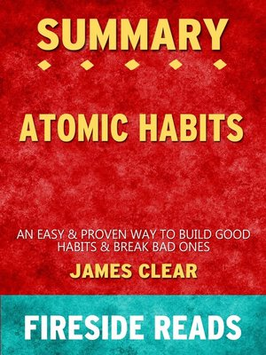 cover image of Summary of Atomic Habits