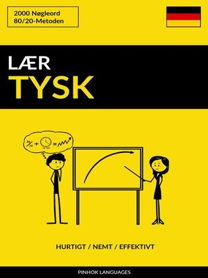cover image of Lær Tysk