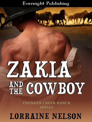 cover image of Zakia and the Cowboy