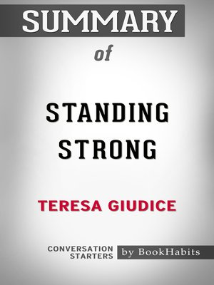cover image of Summary of Standing Strong by Teresa Giudice / Conversation Starters