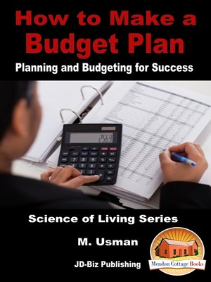 cover image of How to Make a Budget Plan