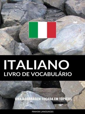 cover image of Livro de Vocabulário Italiano