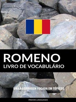 cover image of Livro de Vocabulário Romeno
