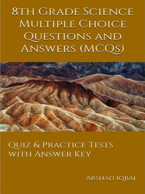 cover image of Grade 8 Science Multiple Choice Questions and Answers (MCQs)