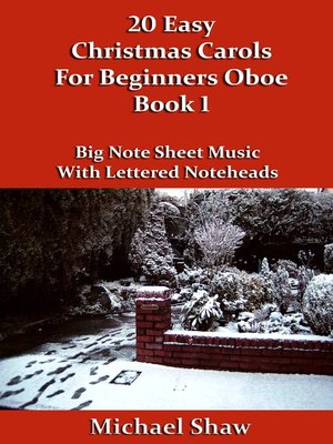 cover image of 20 Easy Christmas Carols For Beginners Oboe