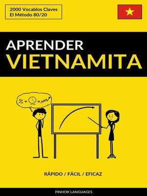 cover image of Aprender Vietnamita