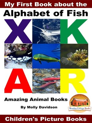 cover image of My First Book about the Alphabet of Fish