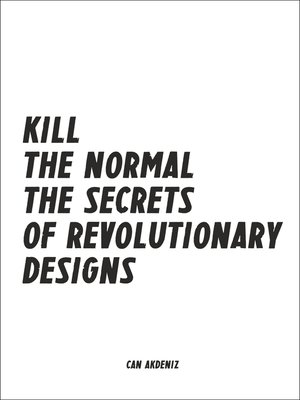 cover image of Kill the Normal