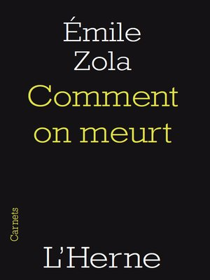 cover image of Comment on meurt