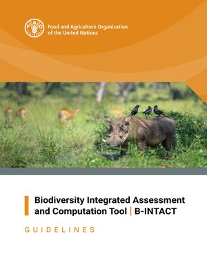 cover image of Biodiversity Integrated Assessment and Computation Tool / B-INTACT