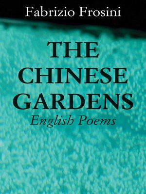cover image of The Chinese Gardens