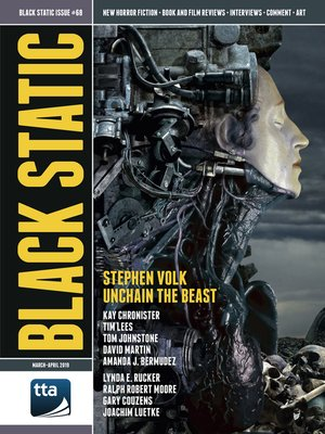 cover image of Black Static #68 (March-April 2019)