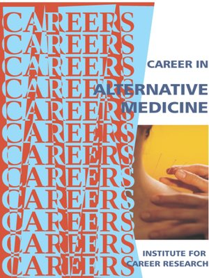 cover image of Career in Alternative Medicine