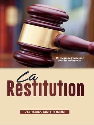 cover image of La Restitution