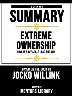 cover image of Extended Summary / Extreme Ownership