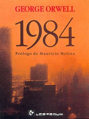cover image of 1984